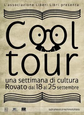 """Locandina """"Cooltour"""" settimana della cultura a Rovato"""